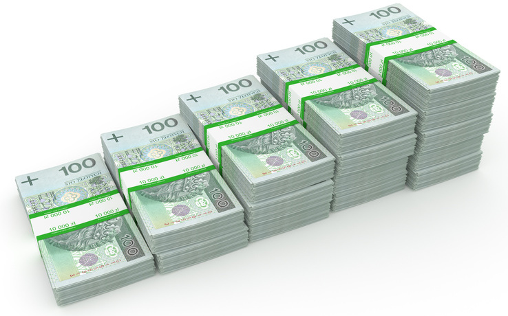 Banknoty w banderolach 2